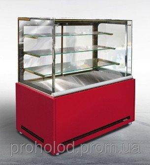 Купить Витрина холодильная кондитерская ВХК(Д) «ДАКОТА А Куб Ф»- 1,5