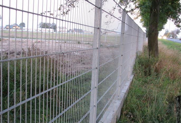 Купить Забор двойной панельный забор Кольчуга