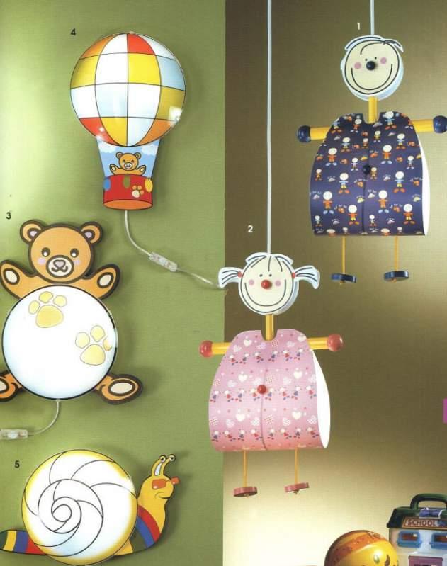 Светильник в детской комнате