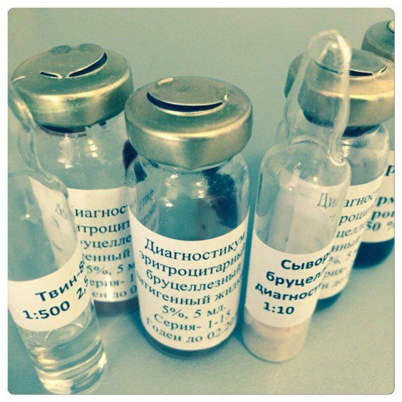 Диагностикум бруцеллезный антигенный для РНГА