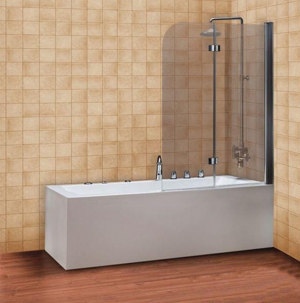 Купить Шторка для ванны Devit Quest FEN0797 стекло прозрачное