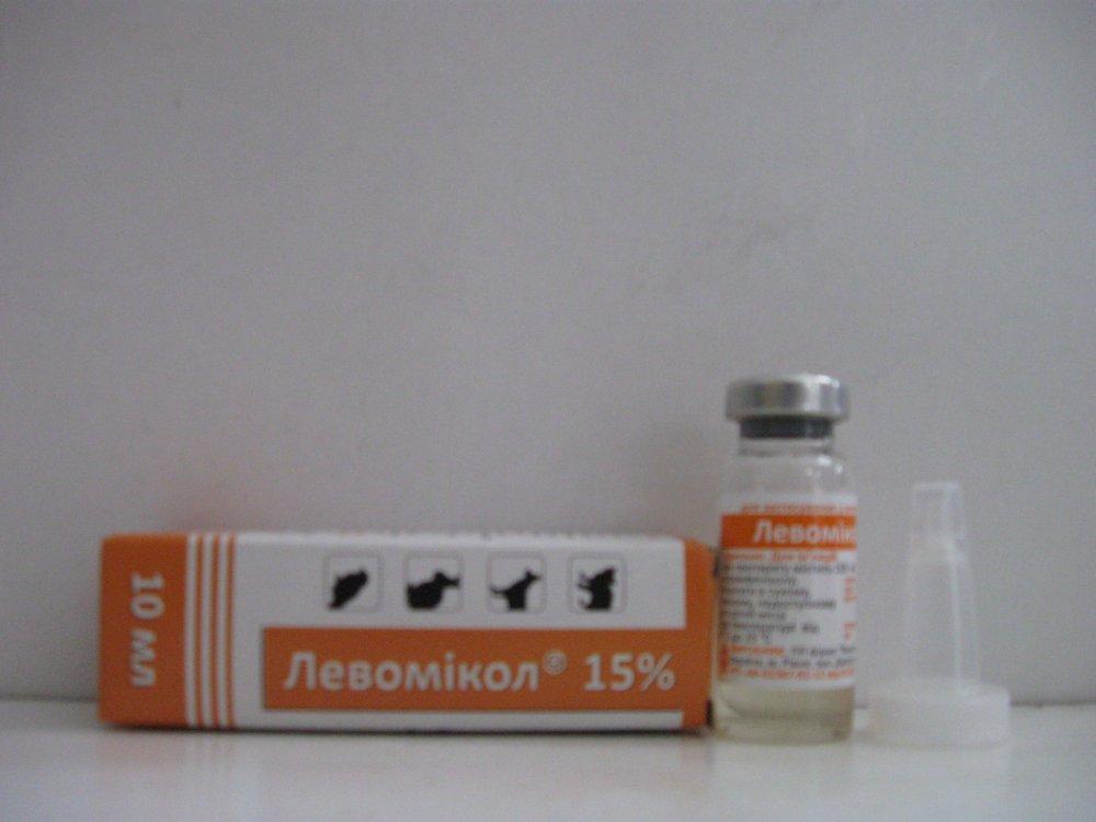 Купить Левомікол 15% піпетка 10 мл уп.117 фл Фарматон Україна