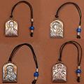 Buy Icon of an arch form C kanatiky Silver 925 ° gilding Suspension bracke