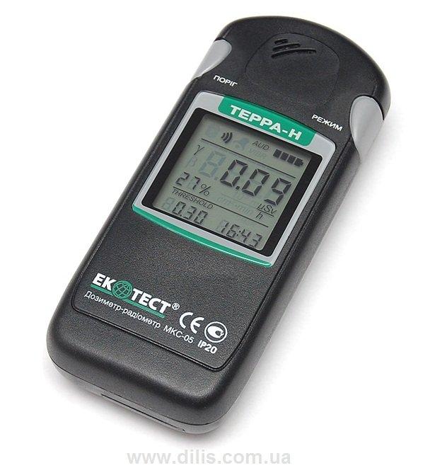 Дозиметр-радиометр ТЕРРА-Н МКС-05 с Bluetooth