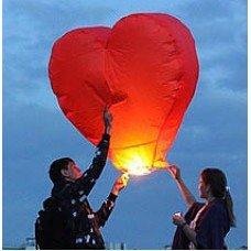 Купить Небесные 3D фонарики сердца