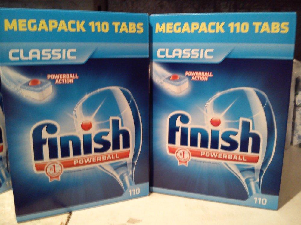 Купить Таблетки для посудомийних машин Finish, 110 шт Німеччина