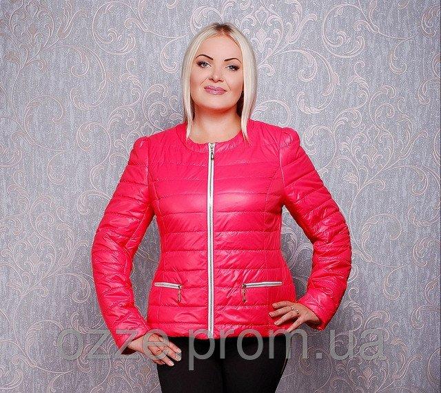 297fcd2f9744 Женская куртка весенняя Шанель К 23 ультра-коралл купить в Харькове