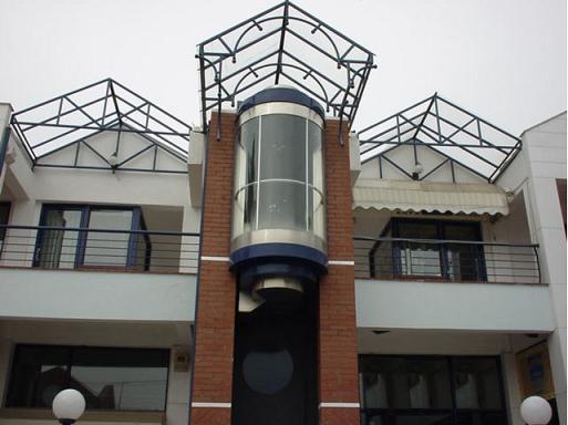 Elevators panoramic (with transparent cabins) PANORAMIC 2