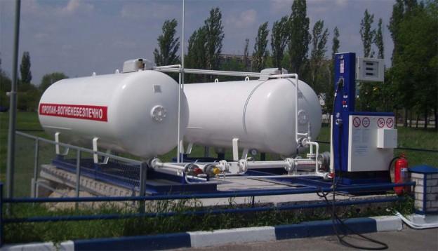 Автомобильная газозаправочная станция АГЗС