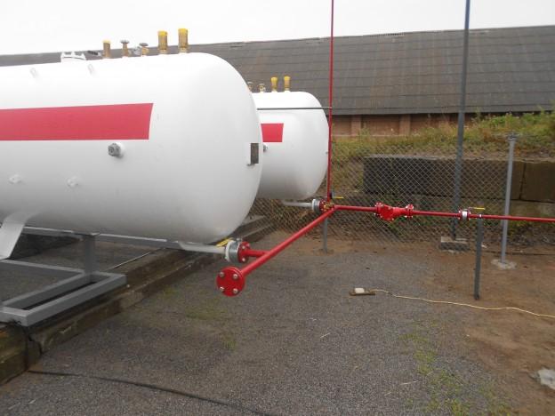 Емкости для хранения сжиженного газа