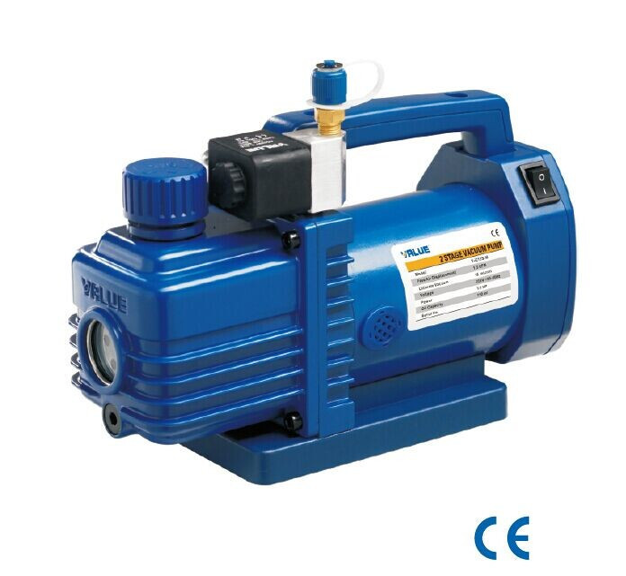 Buy Vacuum pump two steps of VALUE mini VI 215 S-M 2 of mortars. 42 l/min