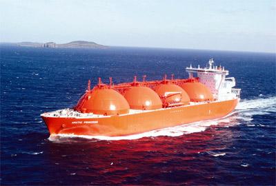 Газовозы полурефрижераторы