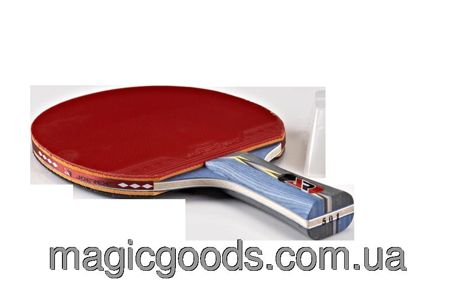 Ракетка для настільного тенісу Joerex 5 зірок купити в Київ 855a78b478c1a