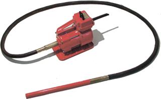 Купити Вібратор глибинний ВЕРБ-116 (42В, 1.4 кВт, д76, вал 3м) Росія