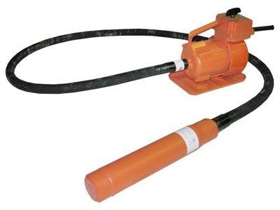 Купити Вібратор глибинний ВЕРБ-116 (42В, 1.6 кВт, д76, вал 3 м) росія