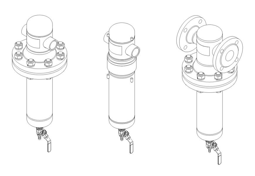 Купить Фильтр очистки воздуха и газов высокого давления ФСВ-х-1200/2,5