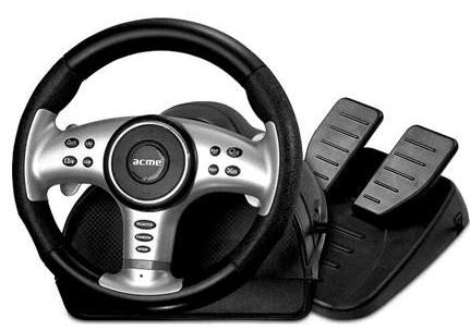 DRIVER: ACME EXTREME RACING WHEEL
