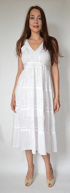 d29d97867ad924 Біле літнє плаття 48 50 розміри купити в Одеса