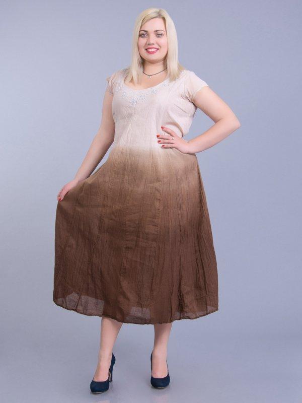платье из ш лка для полных