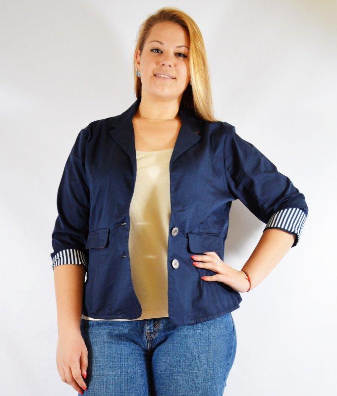 Піджак синій жіночий 52-56 розміри купити в Одеса 8c60348175fbd