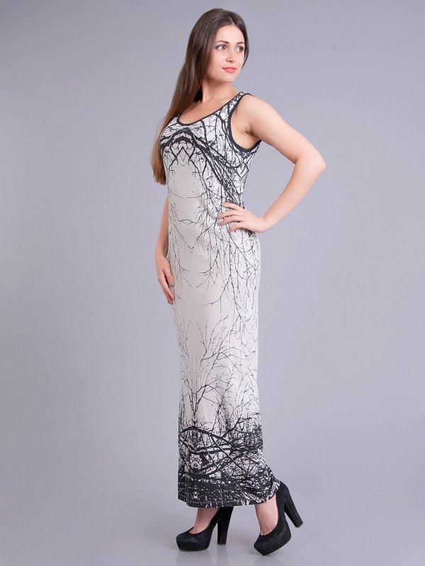 Плаття жіноче летнеее трикотажне довге бавовна 44-50 розміри купити ... 935c2f45aeae8
