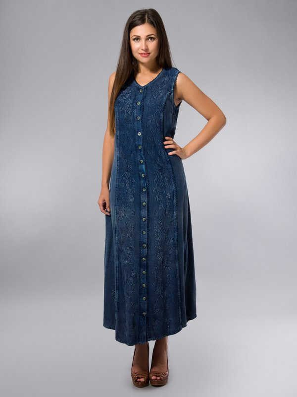 Dress A Dressing Gown Blue India Cotton On 46 50 The Sizes Buy In