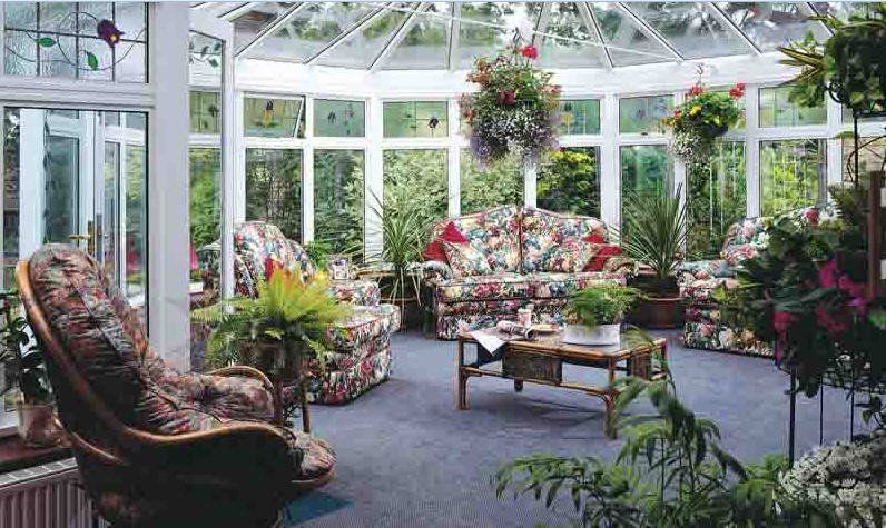 Buy Winter gardens of the greenhouse of a greenhouse from the producer