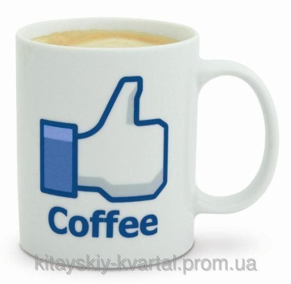Чашка Фейсбук