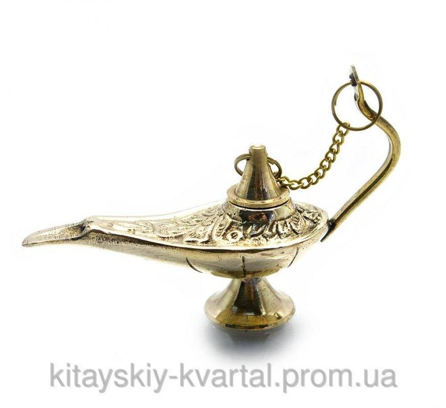 Лампа Алладина бронзовая 11х9,5х4,5 см 4