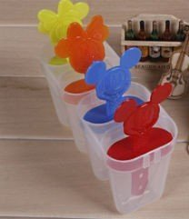 Формочки для мороженого Микки Маус, 4 формы