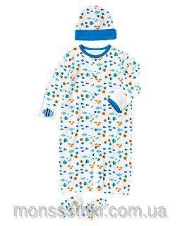 Комплект для новонародженого хлопчика 0-6 місяців купити в Київ 3279a5aca6648