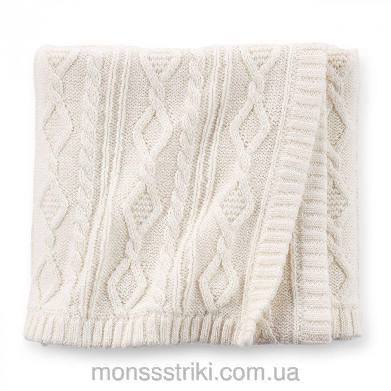 вязаное одеяло для новорожденного Carters купить в киеве