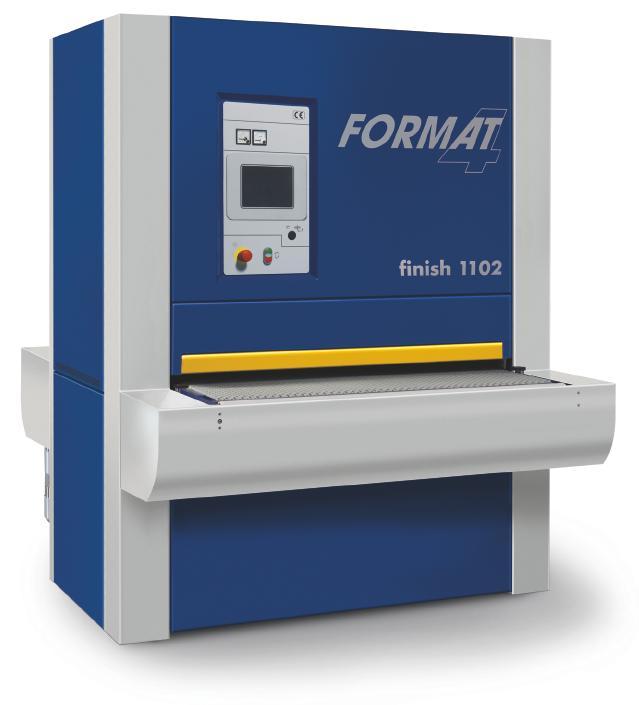 Калибровально-шлифовальный станок Format-4  finish  1102