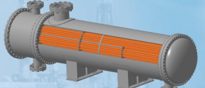 Конденсатор 800 КНГ-0,6 -2,5-М1-25-3-2 для теплообмена жидких и газообразных сред в технологических процессах химической, нефтехимической. нефтеперерабатывающей, газовой, нефтяной и др. отраслях промышленности