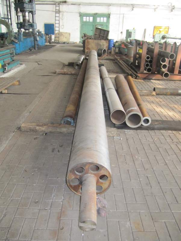Buy The mandrel for production of the plastic pipes F450, length is 9500 mm