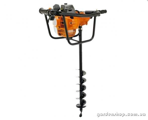 Мотобур CHAMPION AG252 (бензобур) При установки специального шнека (бура) возможно сверление льда.