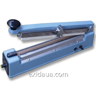 Запайщик импульсный настольный PFS-300C (300мм с ножом)