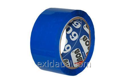 Скотч 72мм*66 метров синий