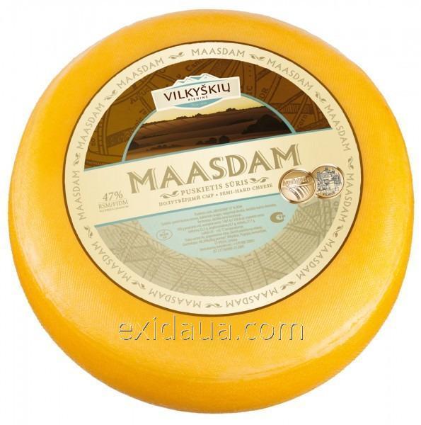 Пакет для упаковки и созревания сыра 280х550 желтый