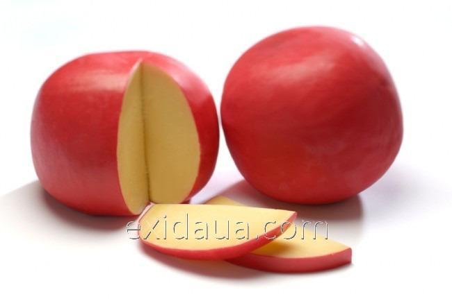 Пакет для упаковки и созревания сыра 425х525 красный