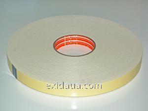 Скотч двухсторонний на вспененной основе (зеркальный) 12 мм х 10 м (0.8мм) 4300