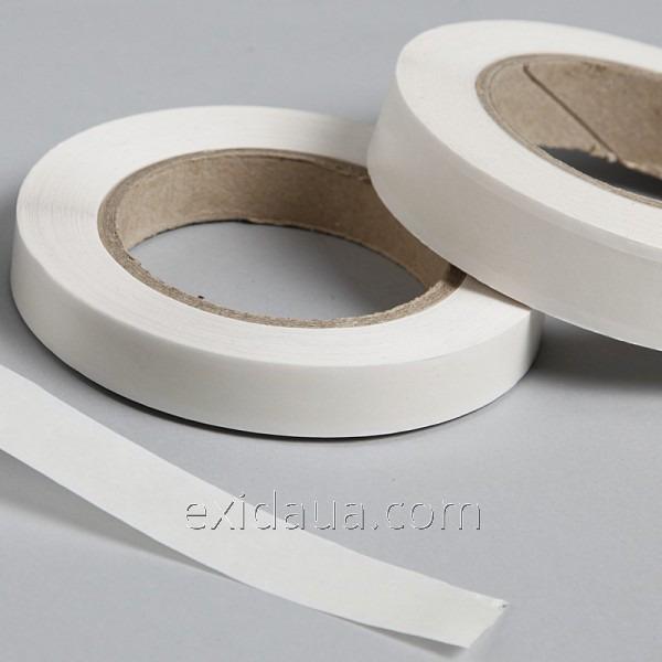 Скотч двухсторонний на бумажной основе 12 мм х 50 м (90 мкм)