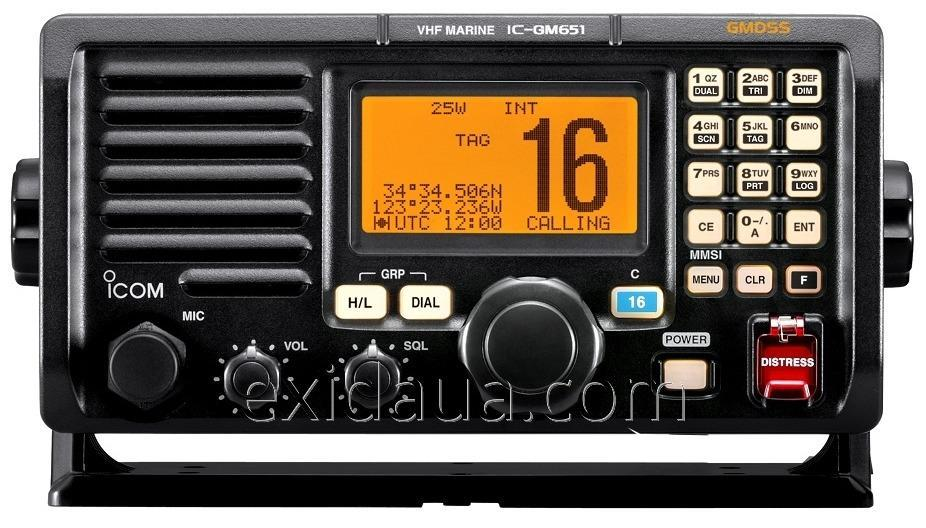 Радиостанция Icom IC-GM651
