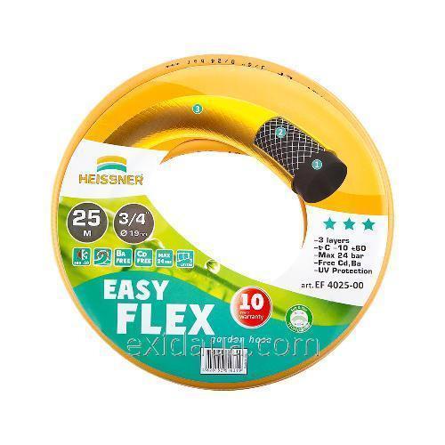 """Шланг Heissner Easy-Flex EF 4025-00 25 м 18.75 мм (3/4"""")"""
