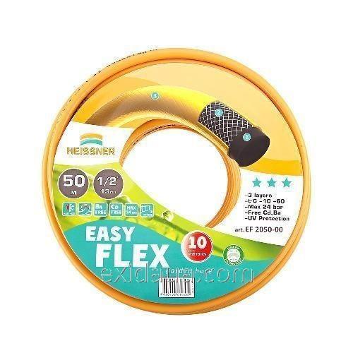 """Шланг Heissner Easy-Flex EF 4050-00 50 м 18.75 мм (3/4"""") + ороситель круглый"""