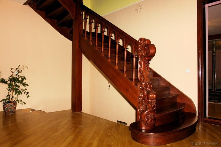 Купить Лестницы на прямых косоурах