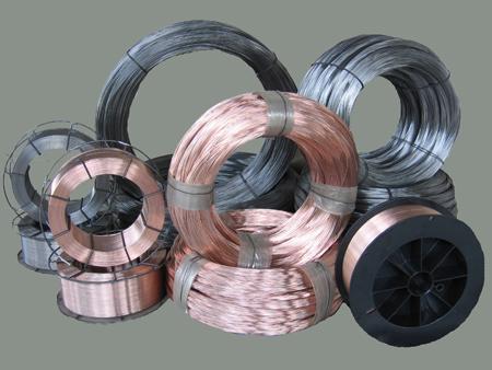Проволока сварочная СВ08Г2С 0,8-1,2мм черная и омедненная на катушках по 5, 10, 15 кг и в бухтах