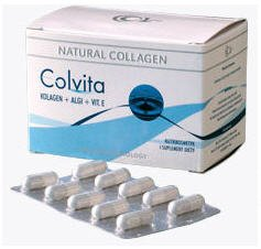 Buy Collagen in Colvita capsules for skin of a body, hair and noty