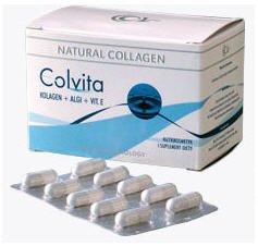Купить Коллаген в капсулах Colvita для кожи тела , волос и нотей