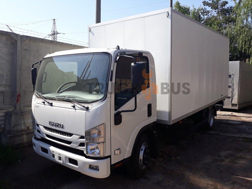 Автомобиль ISUZU NPR 75L-K/M - промтоварный фургон